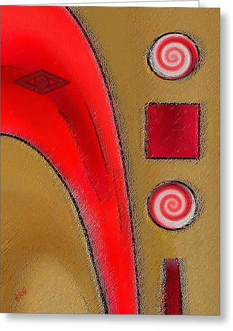 Raisa Gertsberg Digital Greeting Cards - Gravity Circus Greeting Card by Ben and Raisa Gertsberg