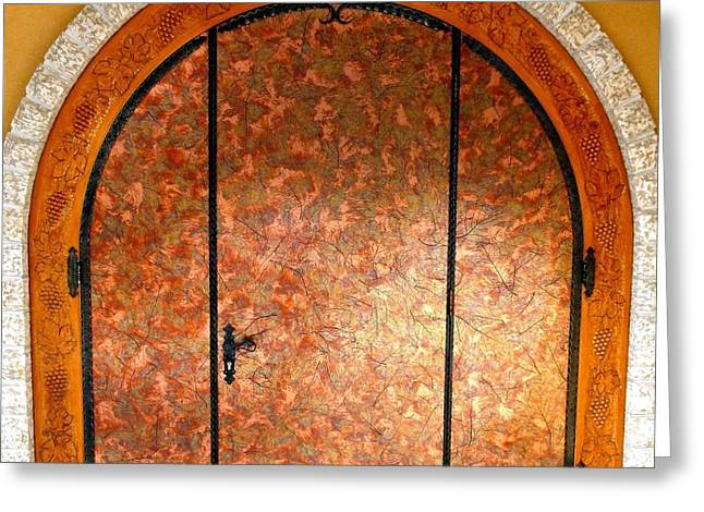Hardware Greeting Cards - Gray Monk Winery Door Greeting Card by Will Borden