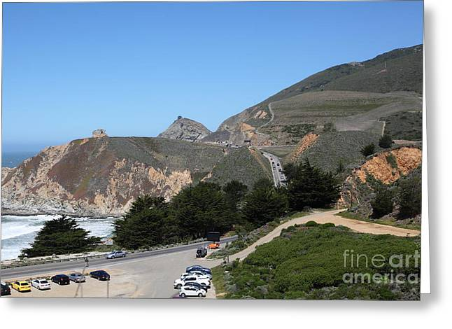 Gray Whale Cove State Beach Montara California 5D22614 Greeting Card by Wingsdomain Art and Photography