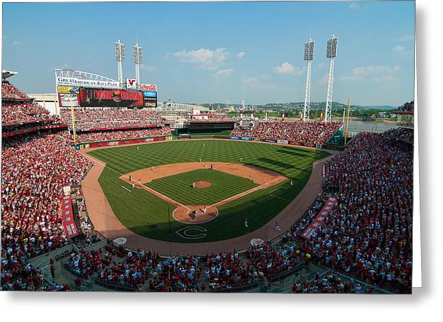 Mark Whitt Photography Greeting Cards - Great American Ballpark Greeting Card by Mark Whitt