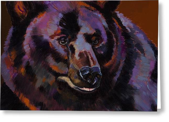 Imaginary Realism Greeting Cards - Great Bear Greeting Card by Bob Coonts