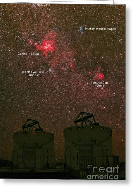 Wishes Greeting Cards - Great Carina Nebula, Cerro Paranal Greeting Card by Babak Tafreshi