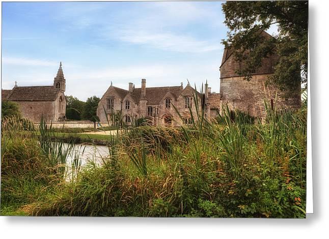 Bradford Greeting Cards - Great Chalfield Manor Greeting Card by Joana Kruse