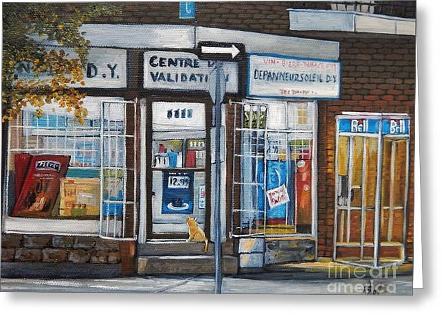 Depanneur Greeting Cards - Great Expectations Greeting Card by Reb Frost