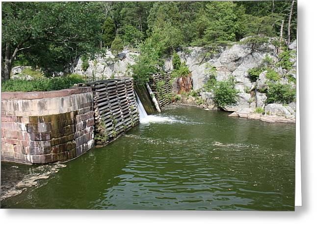 Greatfalls Greeting Cards - Great Falls Park - 121227 Greeting Card by DC Photographer