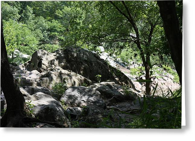 Greatfalls Greeting Cards - Great Falls Park - 12124 Greeting Card by DC Photographer