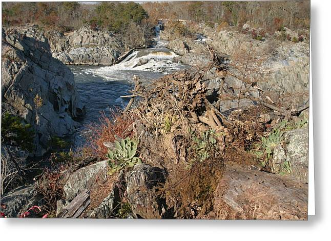 Falls Greeting Cards - Great Falls VA - 121223 Greeting Card by DC Photographer
