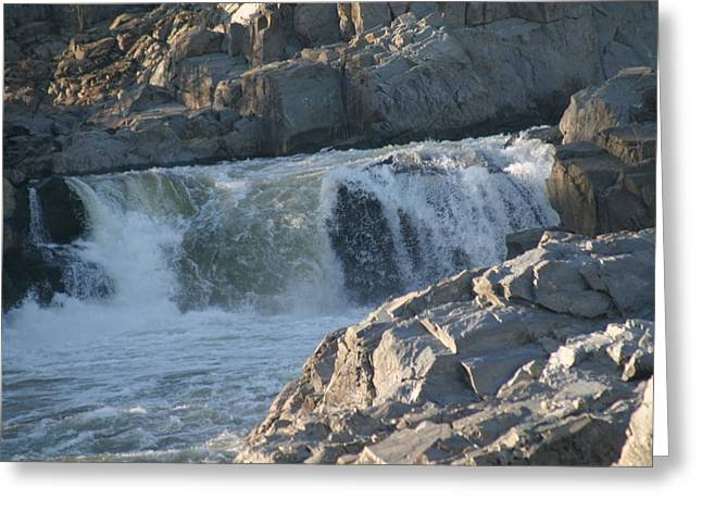 Virginia Greeting Cards - Great Falls VA - 121232 Greeting Card by DC Photographer