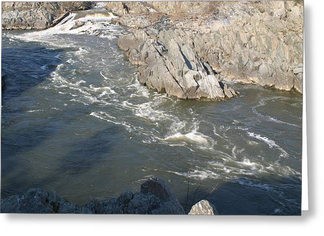 Great Greeting Cards - Great Falls VA - 12127 Greeting Card by DC Photographer
