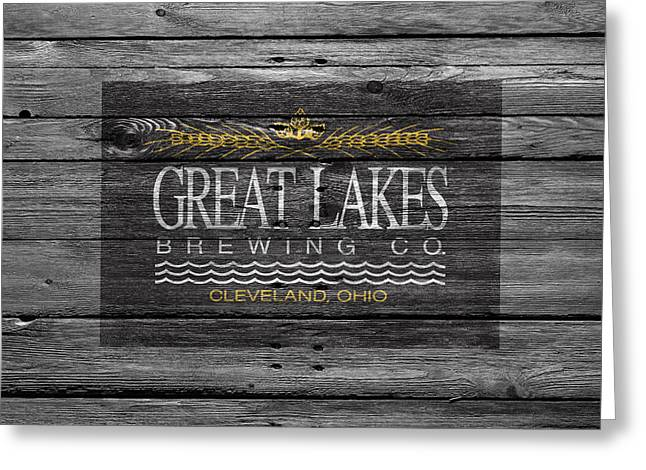 Great Lakes Brewing Greeting Card by Joe Hamilton