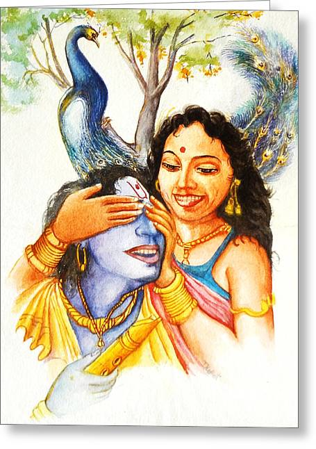 Austria Greeting Cards - Great Lovers-1  Greeting Card by Bhanu Dudhat