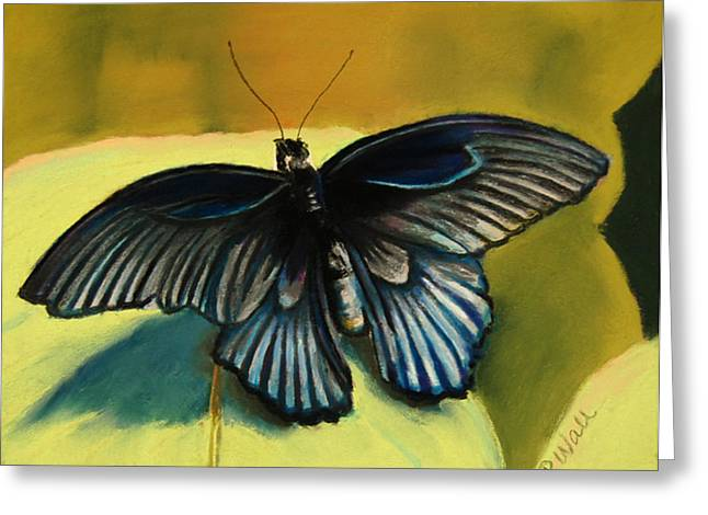 Butterflies Pastels Greeting Cards - Great Mormon Greeting Card by Pattie Wall
