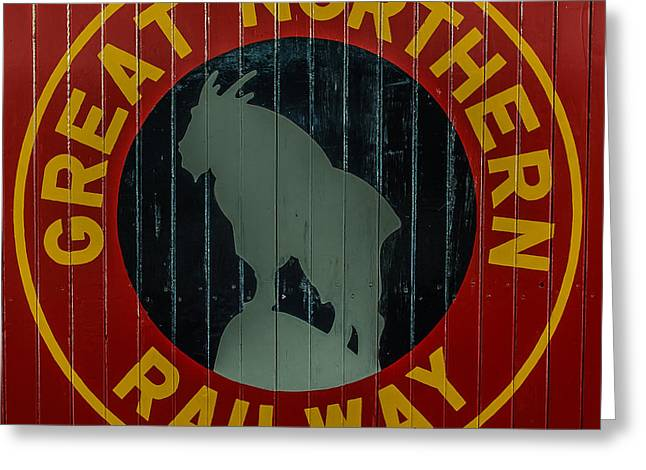 Classic American Railroad Greeting Cards - Great Northern Railway Greeting Card by Paul Freidlund