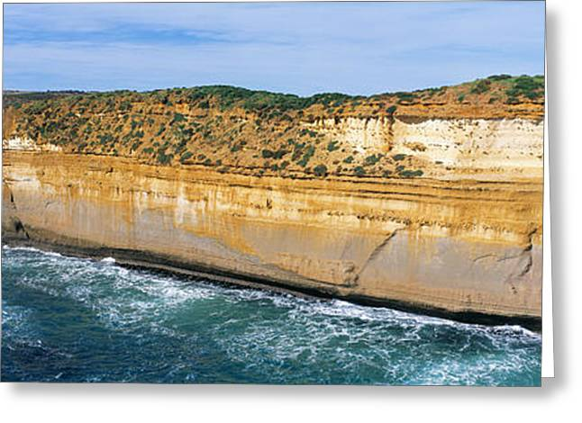 Scenic Vista Greeting Cards - Great Ocean Road, Southern Australia Greeting Card by Panoramic Images