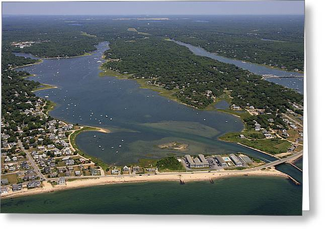 Falmouth Massachusetts Greeting Cards - Great Pond, Falmouth Greeting Card by Dave Cleaveland