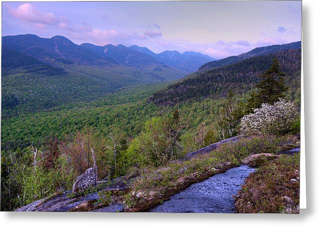 Adirondack Park Greeting Cards - Great Range From First Brother Greeting Card by Panoramic Images