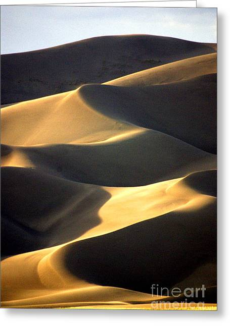 Great San Dunes - Sunset Greeting Card by Douglas Taylor