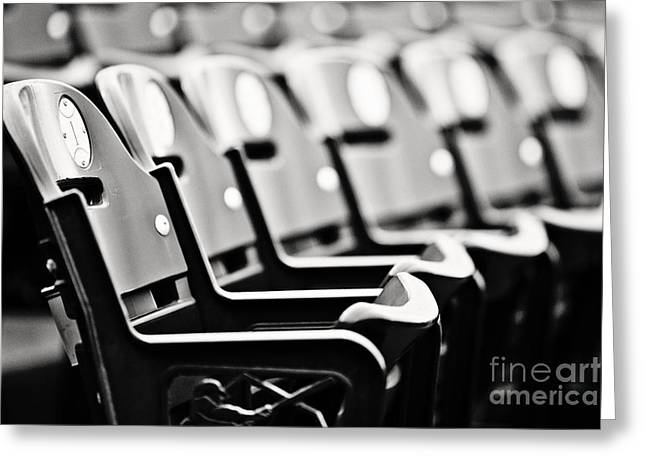 Great Seats Greeting Card by Scott Pellegrin