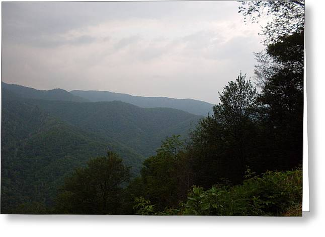 Great Smokey Mountains Greeting Cards - Great Smokey Mountain Greeting Card by Celestial Images