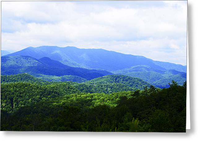 Great Smoky Mountains Greeting Card by Christi Kraft