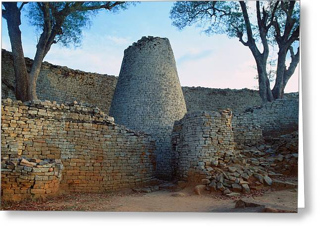 African Heritage Greeting Cards - Great Zimbabwe Ruins Greeting Card by Klaus Wanecek
