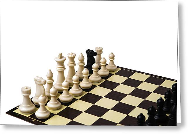 Chess Piece Greeting Cards - Greek Gift Greeting Card by Alexander Senin