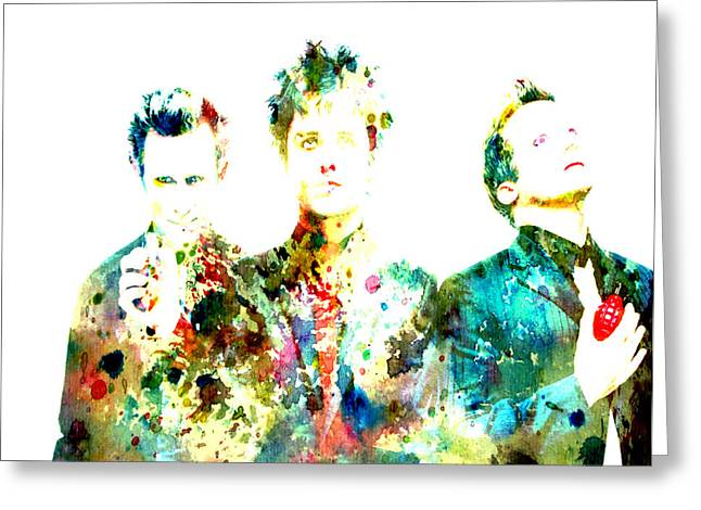 Green Day Greeting Cards - Green Day 2 Greeting Card by Brian Reaves