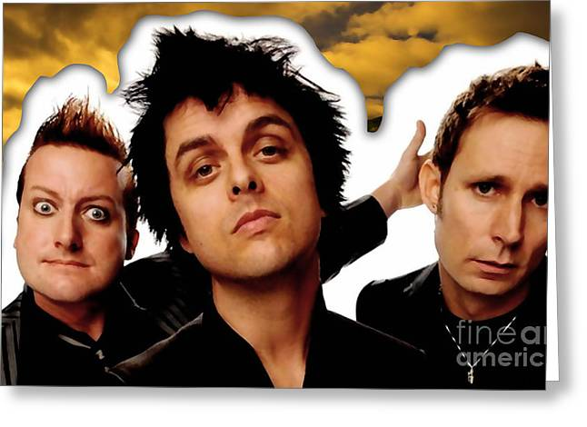 Green Day Greeting Cards - Green Day Greeting Card by Marvin Blaine