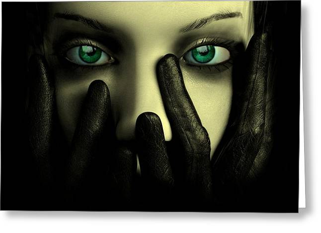 Green Eyed Lady Greeting Card by Movie Poster Prints
