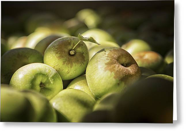 Farmstand Photographs Greeting Cards - Green Jewels Greeting Card by Caitlyn  Grasso