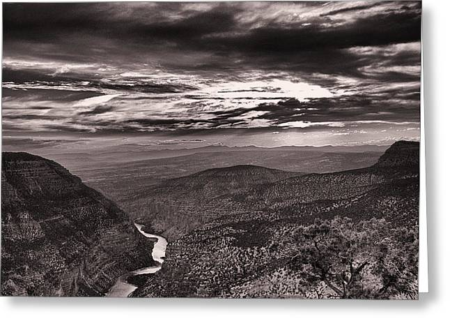 Green River Canyon Greeting Card by Joshua House