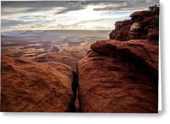 Green River View Greeting Card by Dustin  LeFevre