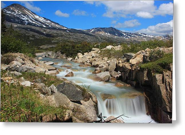 Torment Photographs Greeting Cards - Green Waters Greeting Card by Marv Russell