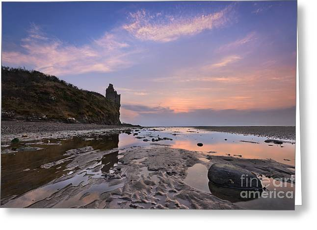 Ayrshire Greeting Cards - Greenan Castle Greeting Card by Rod McLean