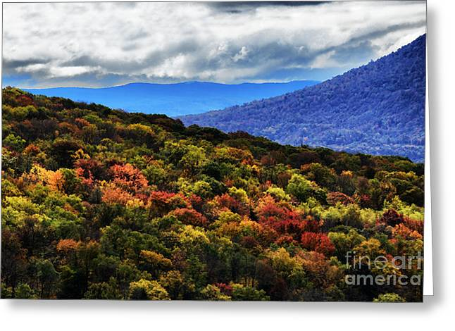 Nature Scene Digital Art Greeting Cards - Greenbrier Valley Greeting Card by Thomas R Fletcher