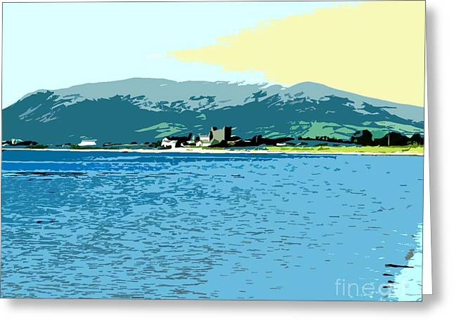 Ocean Images Mixed Media Greeting Cards - Irish Landscape 3 Greeting Card by Patrick J Murphy