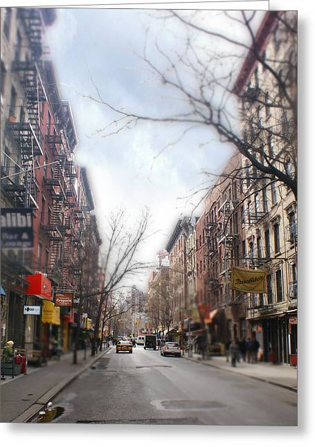 Chelsea Greeting Cards - Greenwich Village Lower Manhattan New York NY Greeting Card by Mike Prittie