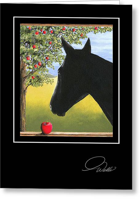 Andrew Wells Greeting Cards - Apollo Greeting Card by Andrew Wells