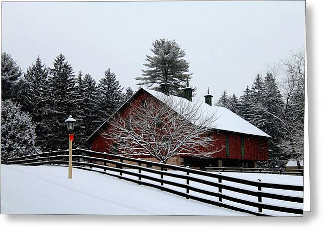 Barn Digital Greeting Cards - Greetings From Clarks Valley Greeting Card by Sharon Batdorf