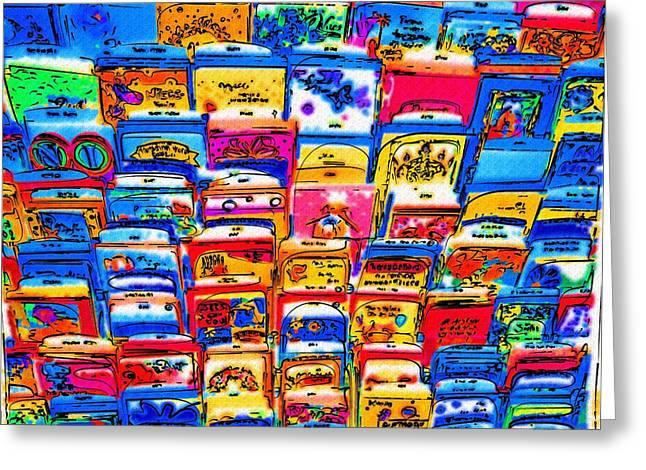 Hallmark Digital Art Greeting Cards - Greetings To You Greeting Card by Alec Drake