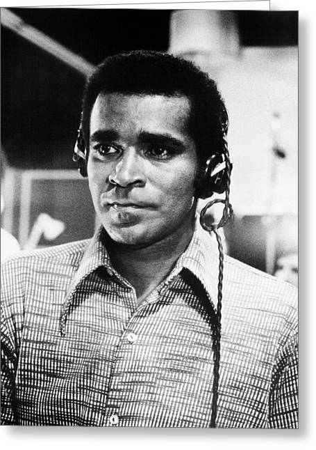 Impossible Greeting Cards - Greg Morris in Mission: Impossible  Greeting Card by Silver Screen