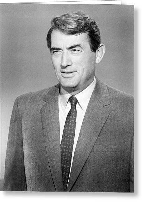 Mirage Greeting Cards - Gregory Peck in Mirage  Greeting Card by Silver Screen