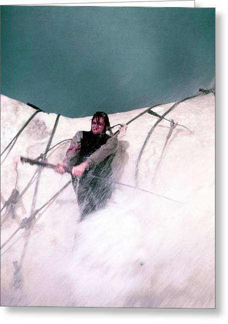 Moby Dick Greeting Cards - Gregory Peck in Moby Dick  Greeting Card by Silver Screen