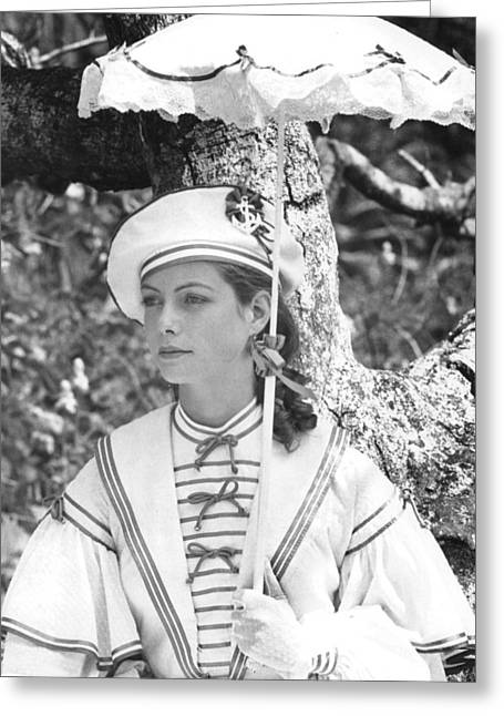 Greta Scacchi In Heat And Dust  Greeting Card by Silver Screen