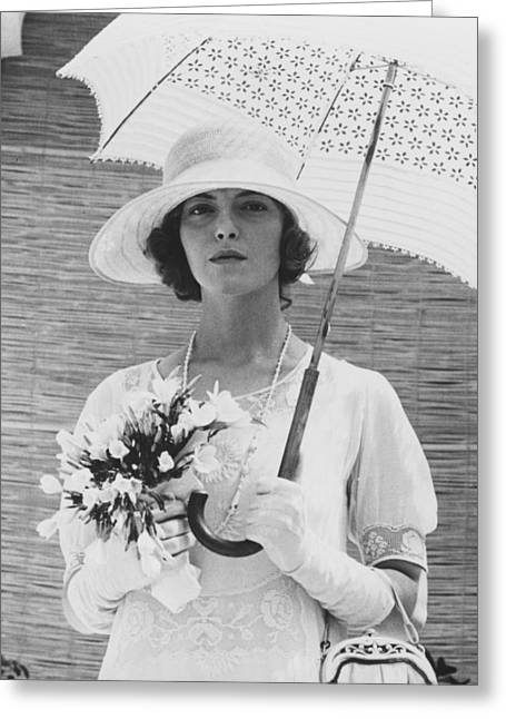 Greta Greeting Cards - Greta Scacchi Greeting Card by Silver Screen