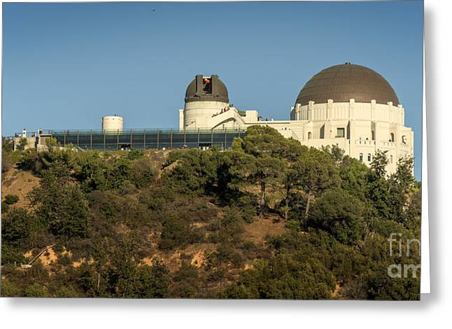Clear Sky Images Greeting Cards - Griffith in the Mountain Greeting Card by Clear Sky Images