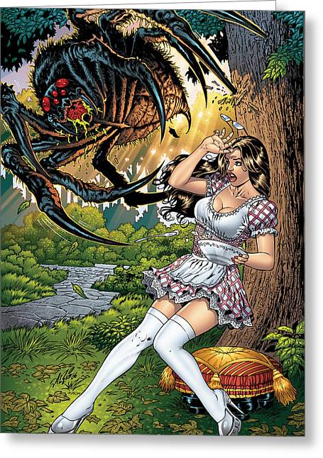 Muffet Greeting Cards - Grimm Fairy Tales 16 Greeting Card by Zenescope Entertainment