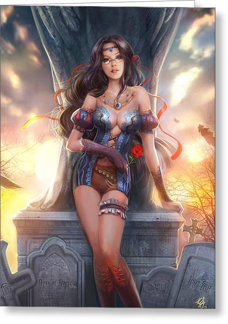 Grimms Fairy Tales Greeting Cards - Grimm Fairy Tales The Dream Eater Saga 12B Greeting Card by Zenescope Entertainment