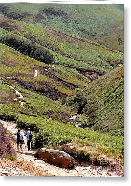 Grindsbrook Booth Greeting Card by Darren Burroughs
