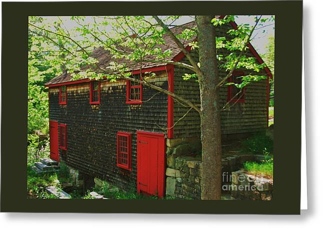 Grist Mill # 4 Greeting Card by Marcus Dagan